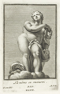 Galatea, in verkort perspectief (pl. XLVII)