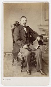 Portret van Jan Minnema van Haersma de With (1821-1889)