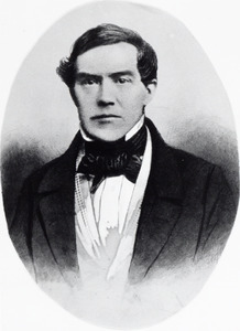 Portret van Bernhard Gorris (1814-1874)