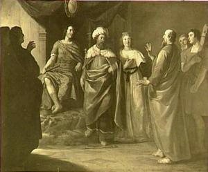 Paulus voor koning Agrippa