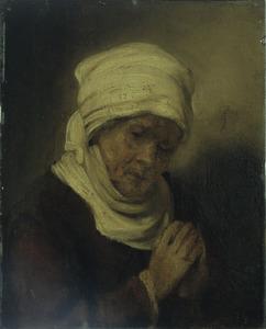 Biddende vrouw