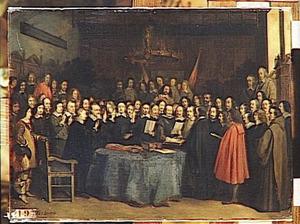 Het sluiten van de vrede van Munster, 15 mei 1648