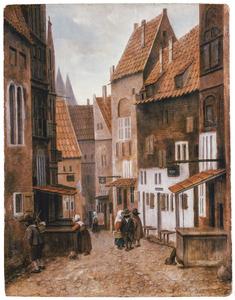 Straat in een stad