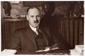 Portret van Hans Schneider (1888-1953)