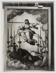 Het visioen van Johannes de Evangelist op Patmos