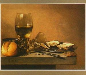 Ontbijtje met oesters en roemer