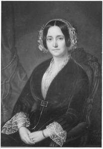 Portret van mogelijk Louisa Mathilda Luden (1824-1891)