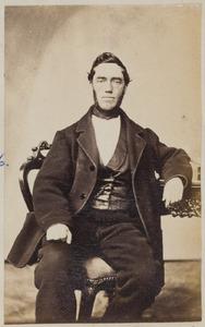 Portret van Johannes Jacobus Laskewitz (1816-1896)
