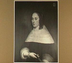 Portret van Anna van Steenborch (1631-1668), echtgenote van Cornelis van Erkel