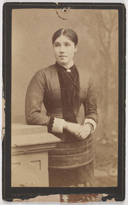 Portret van Francina Margaretha Walraven (1862-1916)