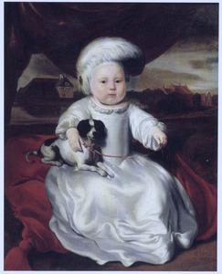 Portret van een kind, mogelijk Ida Margriet Maes (1664-?)