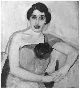 Portret van Dina Diependaal (1888-....)