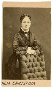 Portret van Emilia Christina op den Hooff (1830-1922)