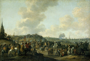 Het vertrek van Karel II van Engeland uit Scheveningen, 2 juni 1660