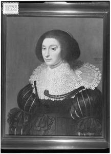 Portret van een 39-jarige vrouw