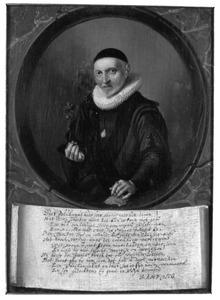 Portret van Bernardus Paludanus (1550-1633)