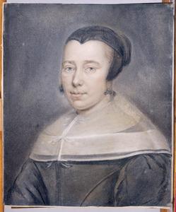Portret van Geertruit van der Moer (....-1668)