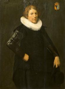 Portret van Reinier Ottsz. Hinlopen (1604-1692)