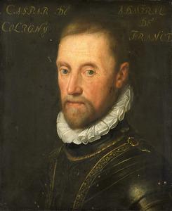 Portret vanGaspard de Coligny (1519-1572)