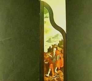 De Heilige Paulus met in de achtergrond zijn schipbreuk voor Malta