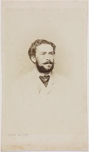 Portret van Lodewijk Edzard baron van Pallandt (1840-1878)