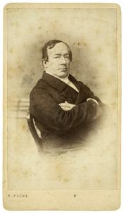Portret van mogelijk Pertrus Ens (1807-1880)