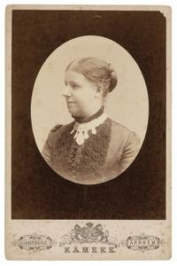 Portret van Eritia Ena Romelia de Beaufort (1843-1910)