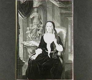 Portret van Elisabeth Mattina Saagmans (1672-1749)