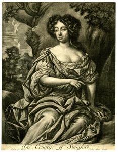 Portret van Elizabeth Harvey, Countess van Stamford
