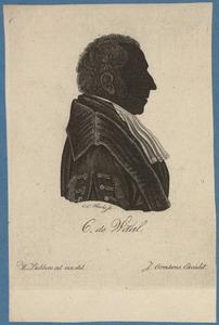 Portret van Cornelis de Waal (1771-1849)