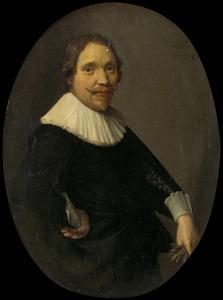 Portret van Willem van Oldenbarneveldt (1590-1634)
