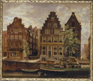 Huizen aan de Geldersekade te Amsterdam