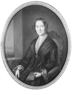 Portret van Catharina Jacoba Henriette Luden (1812-1857)