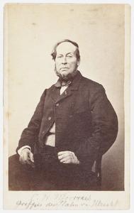 Portret van Christiaan Wilhelmus Moorrees (1801-1867)