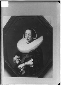 Portret van Elisabeth van der Voorde (1611-1677)