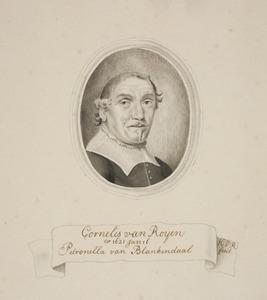 Portret van Cornelis van Royen (....-....)
