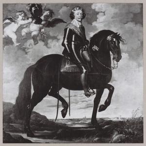 Ruiterportret van Frederik Hendrik van Oranje-Nassau(1584-1647)