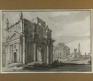 Romeins poortgebouw