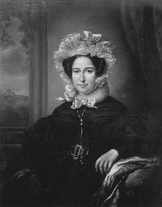 Portret van Maria de Clercq (1797-1838)