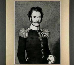 Portret van Theodore Casimir Arensma (1785-1840), Majoor der Infanterie
