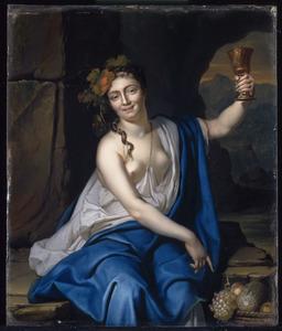 Bacchante, allegorie op de Overvloed