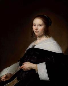 Portret van Cornelia Hammius