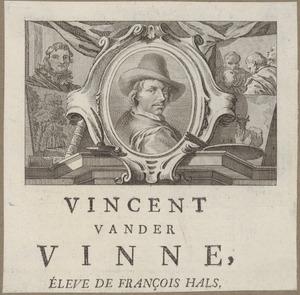 Portret van Vincent Laurensz. van der Vinne I (1628-1702)