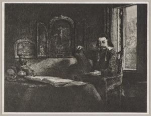 Portret van Abraham Francen (1612-....)
