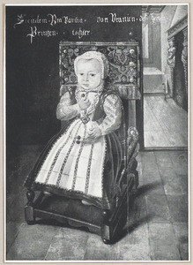 Portret van Charlotte Brabantina van Oranje-Nassau (1580-1631)