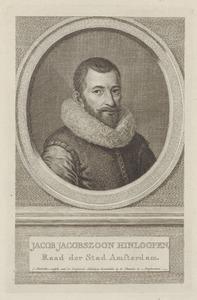 Portret van Jacob Jacobsz. Hinlopen (1582-1629)