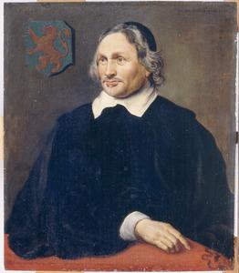 Portret van Jacobus van Gool (1596-1667)