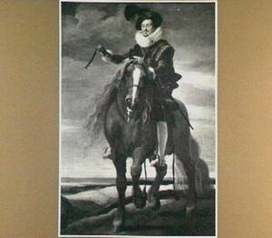 Ruiterportret van Don Mexía Felípez de Guzmán, marqués de Léganes (?-1655)