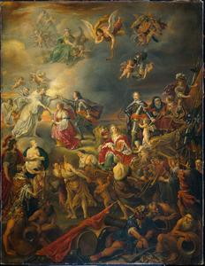 Allegorie op de Vrede onder Willem II