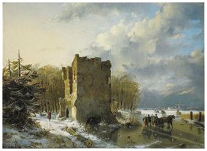 Winter scène in Holland